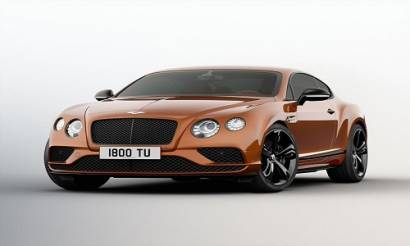 Bentley lanza el Continental GT Speed Black Edition