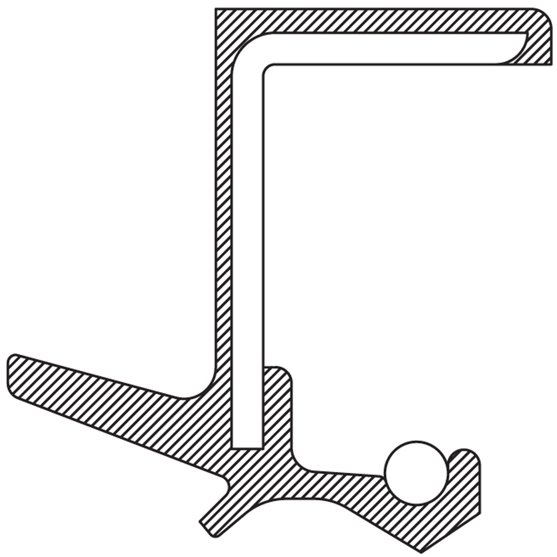 Manual Trans Output Shaft Seal Mopar MD707184