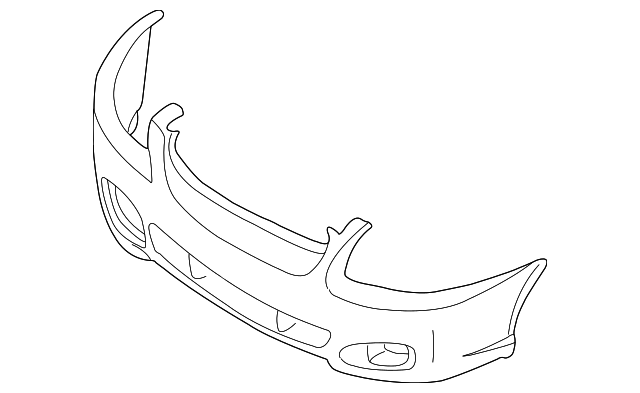 cubierta del parachoques